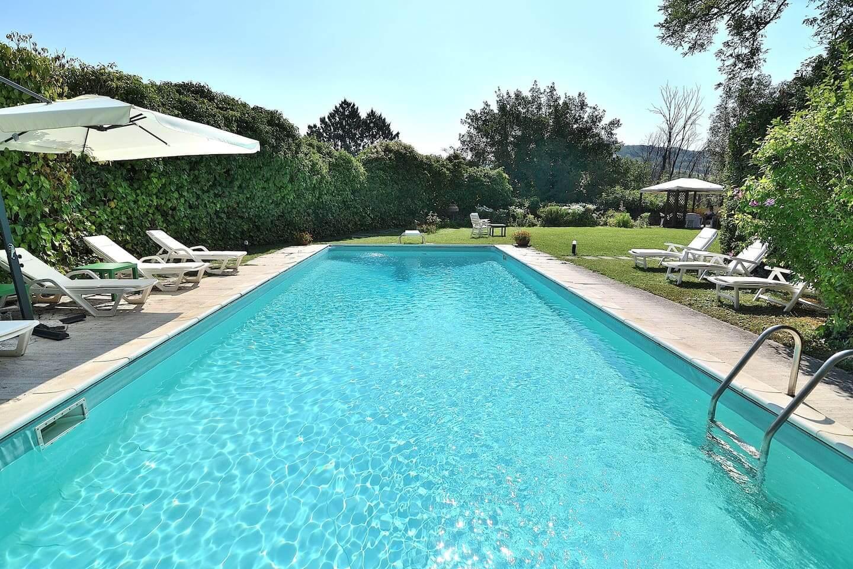 piscina villa toscana