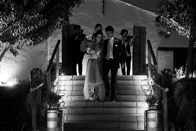 Matrimonio in Toscana a San Donnino foto sposi